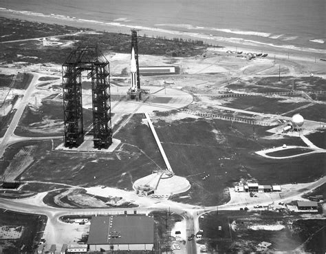 Kennedy Boat Transport by Cape Canaveral Air Station Launch Complex 34