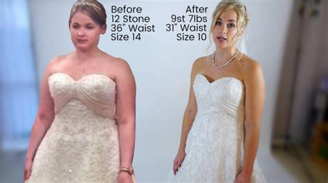 foto de Mujer bajó 16 kilos en cinco meses para su matrimonio tras