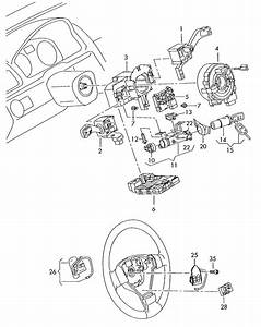 2008 Volkswagen Tiguan Steering Column Lock With Ignition