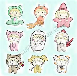 Anime Chibi Animals