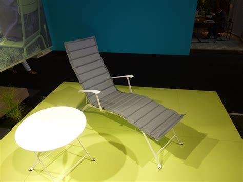 coussin de chaise longue coussin pour chaise longue bistro l 171 cm taupe fermob