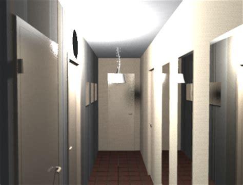 peinture deco chambre déco du couloir en l sol sombre