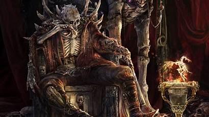 Skeleton Wallpapers Dark Background Fantasy Lich Backgrounds