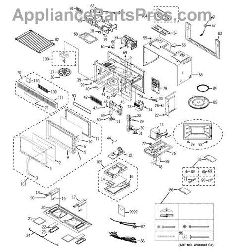parts  ge emohbb microwave parts appliancepartsproscom
