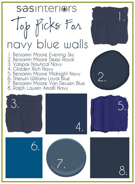 25 best ideas about navy blue walls on navy