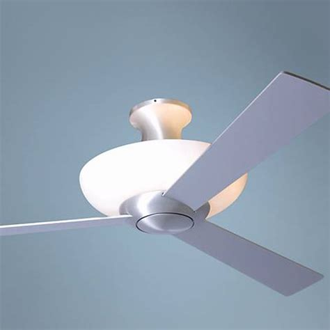Contemporary Ceiling Fans With Uplights by 52 Quot Hugger Aluminum Finish Uplight Ceiling Fan