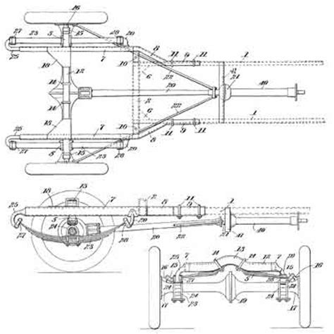 ford model  chassis dimensions