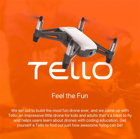 dji tello mini drone tek shanghai