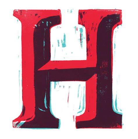 the letter h typographic pinterest