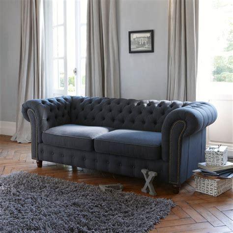 canapé capitoné meubles et déco vintage chez la redoute