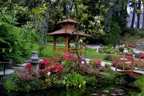 japanese garden powerscourt estate house  gardens