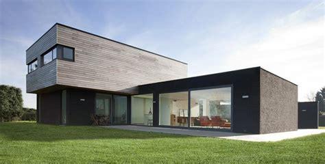 maison contemporaine sur deux niveaux 224 ossature bois