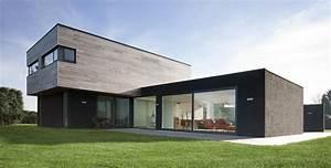 Davausnet image maison moderne bois avec des idees for Ordinary couleur facade maison contemporaine 13 maison moderne ossature bois kit bardage bois couleur