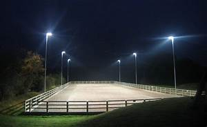Outdoor horse arena lighting led