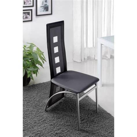 6 chaises de salle a manger eiffel lot de 6 chaises de salle à manger noires et