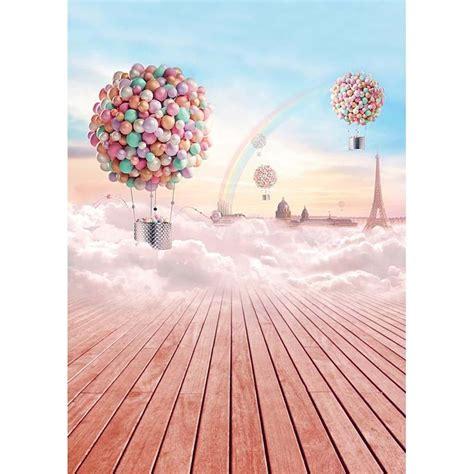 ful hot air balloons kids children photo studio