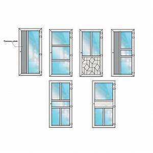 porte d39entree pvc semi vitree bhautika haute qualite With porte de garage enroulable et porte interieure contemporaine italienne
