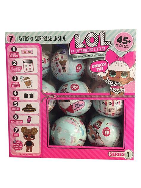 caixa de bonecas lol surprise doll serie    unidades