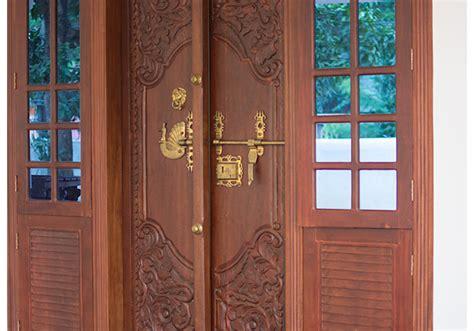 Door Designs by Front Door Designs Kerala Stylereal Estate Kerala Free