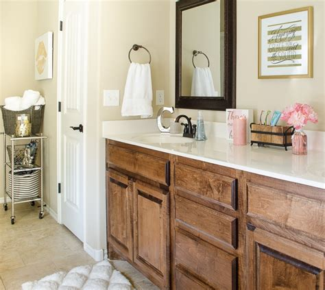 glam bathroom how to organize the master bathroom in style polished Farmhouse