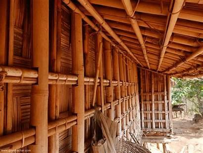 Garo Traditional Architecture Hills Meghalaya India Tribal