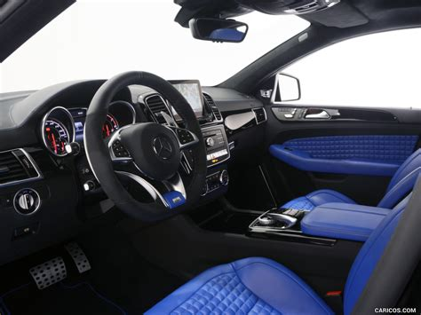 By comparison, the gle 450 amg will cost around 75,000 euros, leaving enough space between the new amg sport line and the top of the line amg models. 2016 BRABUS 700 Coupé based on the Mercedes-AMG GLE 63 S - Interior | Wallpaper #15 | 1280x960