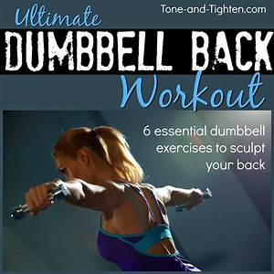 Dumbbell back workout – Best dumbbell exercises for your ...