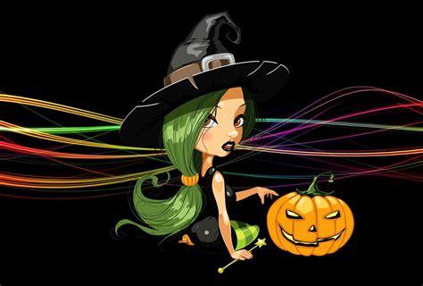 Halloween Pumpkin Backgrounds Desktop Halloween Witch Wallpapers 58 Images