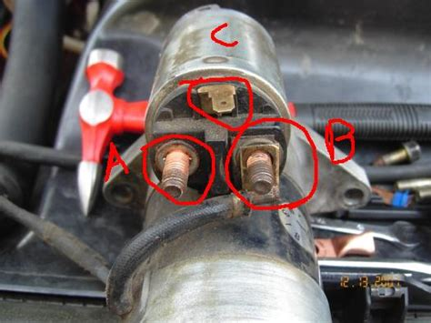 how can i wire the starter outside the harness rx7club mazda rx7 forum