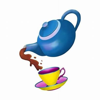 Teapot Tip Pour Pouring Teacup Cliparts Clipartmag