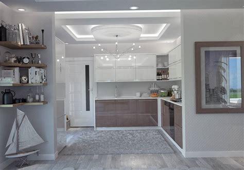 salon cuisine 50m2 villa contemporaine 130m2 etage modèle lavande salon