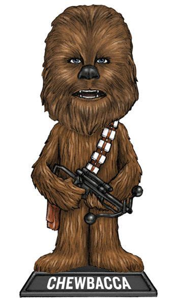 Chewbacca Clip Art Image Star Wars Wacky Wobbler Bobble