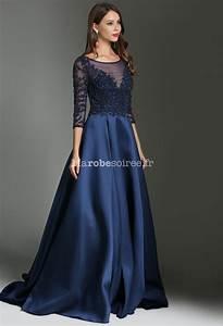 robe de soiree bleu nuit luxe With robe de soirée de luxe