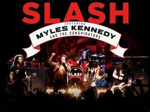 Slash featuring Myles Kennedy and The Conspirators Tour ...