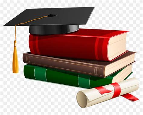 Graduation Cap And Scroll Clip Art