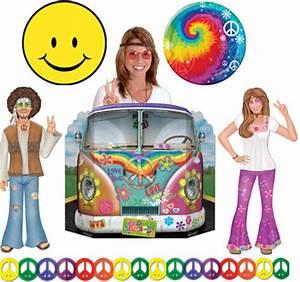 60 Jahre Style : feiern wie ein hippie flower power fete mit 60er jahre partydeko fixe fete alles ber partys ~ Markanthonyermac.com Haus und Dekorationen