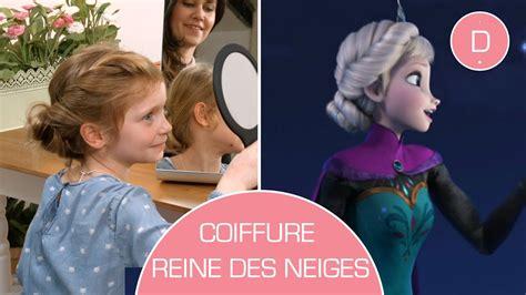 Chignon Elsa Reine des Neiges - Tuto coiffure - YouTube
