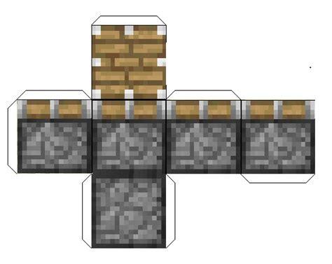 New 92 Papercraft Minecraft Piston