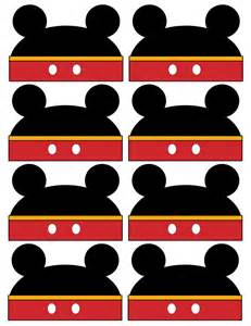 Mickey Mouse Printable Labels Free