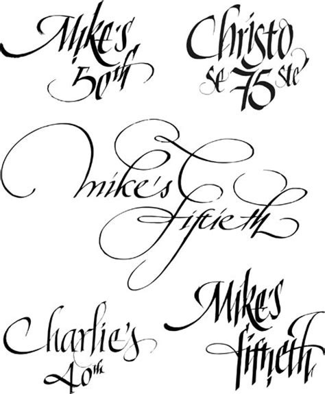 fancy handwriting styles www imgkid the image kid