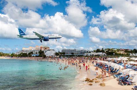 Maho Beach St Maarten A Planespotters Paradise