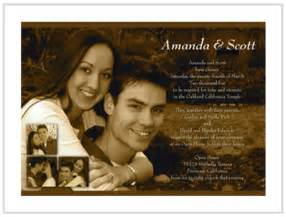 photo wedding invitations top 5 photo wedding invitations to set the mood for your big day