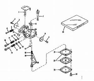Carburetor No  630893  Power Products  Diagram  U0026 Parts List For Model 143521121 Craftsman
