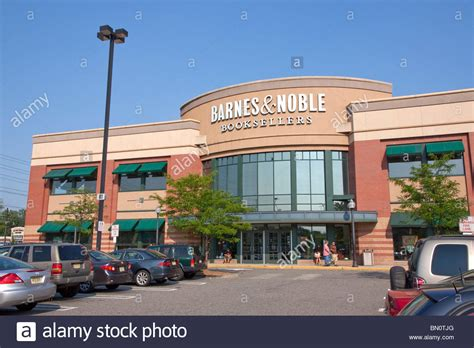 Barnes & Noble Bookstore Front Entrance And Parking Lot In