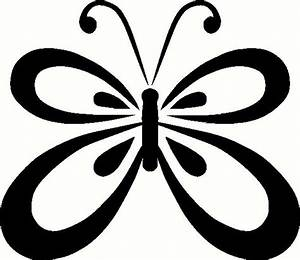Butterfly Outline - ClipArt Best