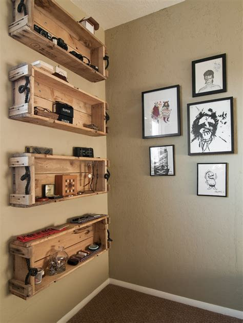 pallet shelves houzz