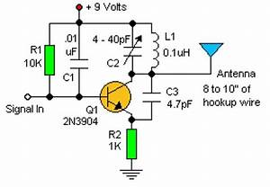 basic rf oscillator circuit schematic With basic oscillatory circuits