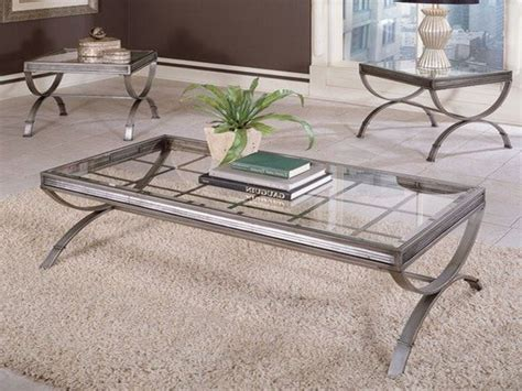 Coffee Tables Ideas Glass And Silver Coffee Table Design
