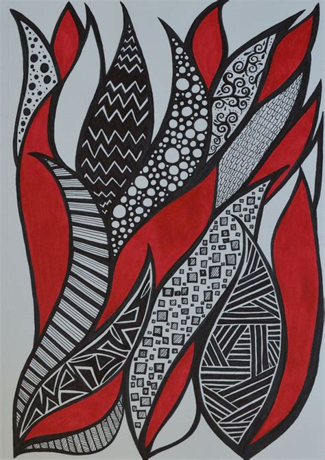 Abstract Black Marker by Black Sharpie Sf My Marker And Doodles