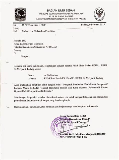 Contoh Proposal Izin Penelitian Suratmenyuratnet